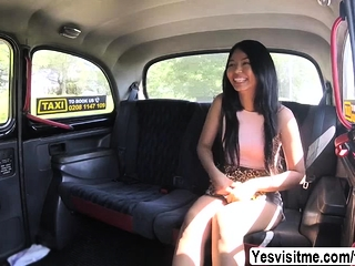 Hot Thai Jureka loves to drove and suck Scottish big load of shit