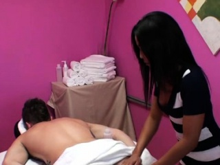 Little asian sweetheart knows how to make a customer pleased