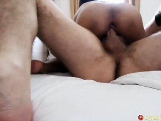 Morning fuck n swell up with hot transitory Filipina
